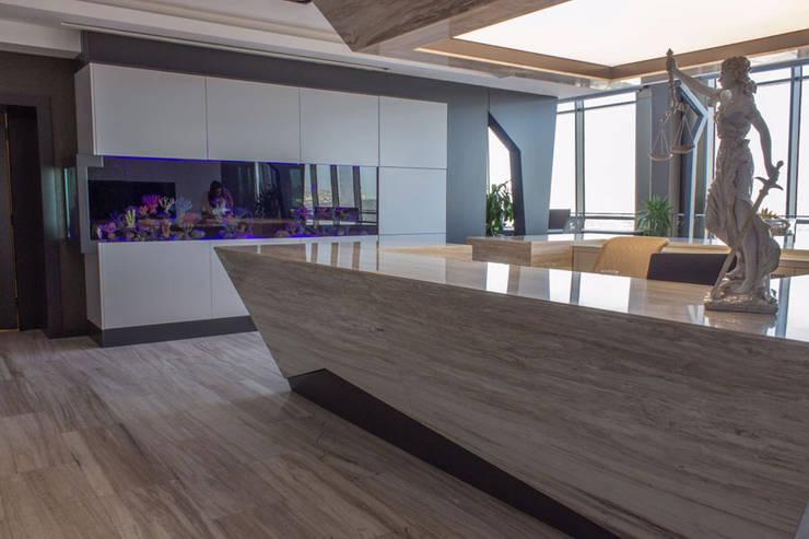 Office buildings by VEROMAR Luxury Marble Tiles & Mosaics