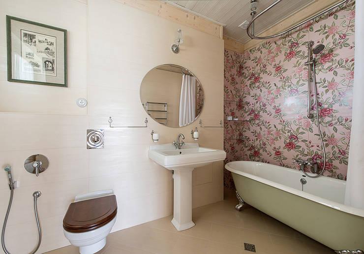 Гостевая ванная: Ванная комната в . Автор – Эдуард Григорьев (daproekt)