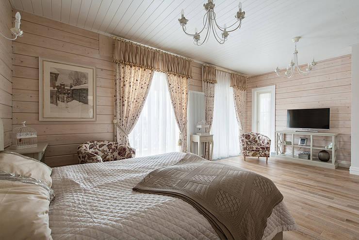 Спальня гостевая: Спальная комната  в . Автор – Эдуард Григорьев (daproekt)