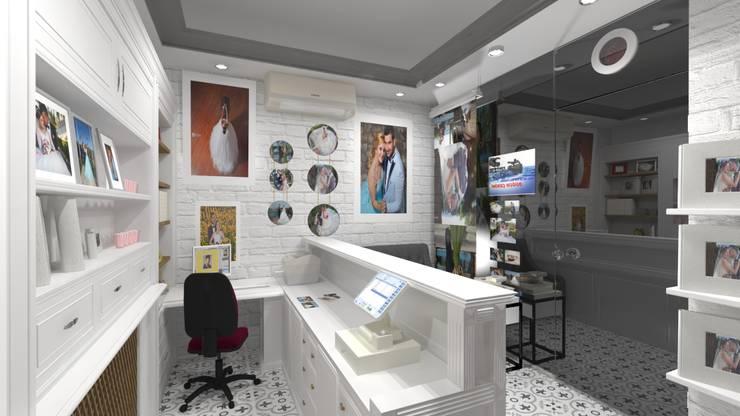 Altuncu İç Mimari Dekorasyon – Sistem Fotoğrafçılık - Sistem Color (Gelibolu) Fotoğraf stüdyosu tasarım çalışması:  tarz Dükkânlar, Modern
