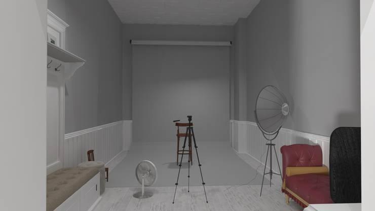 Altuncu İç Mimari Dekorasyon – Sistem Fotoğrafçılık – Sistem Color (Gelibolu) Fotoğraf stüdyosu tasarım çalışması:  tarz Dükkânlar, Modern