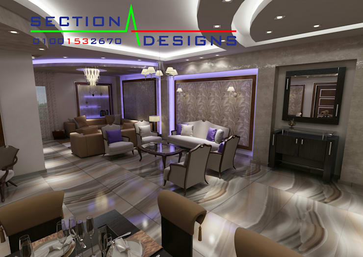 Casas de estilo  por section designs, Moderno