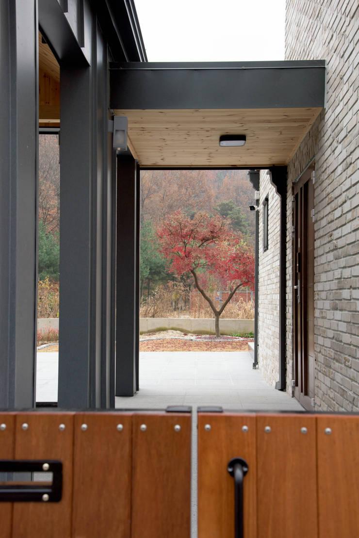 외부진입부: 건축사사무소 재귀당의  주택