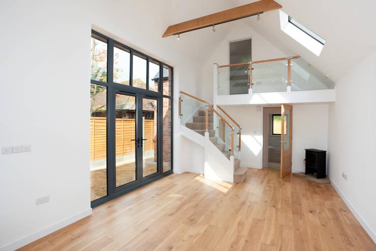 New-build:  Living room by J.J.Mullane Ltd