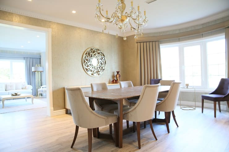 modern Dining room by Aykuthall Architectural Interiors