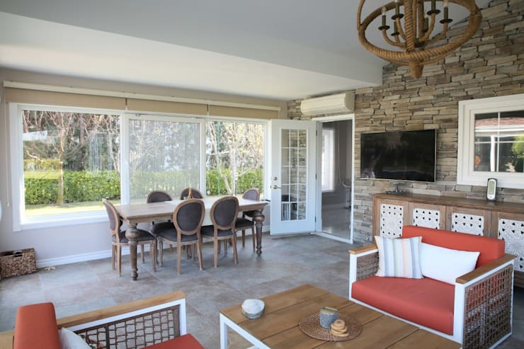 Patios & Decks by Aykuthall Architectural Interiors