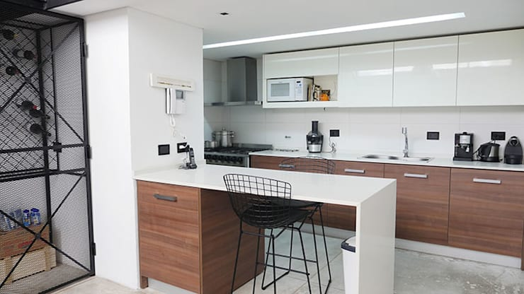 Cocinas de estilo  por Isabel Amiano Arquitectura