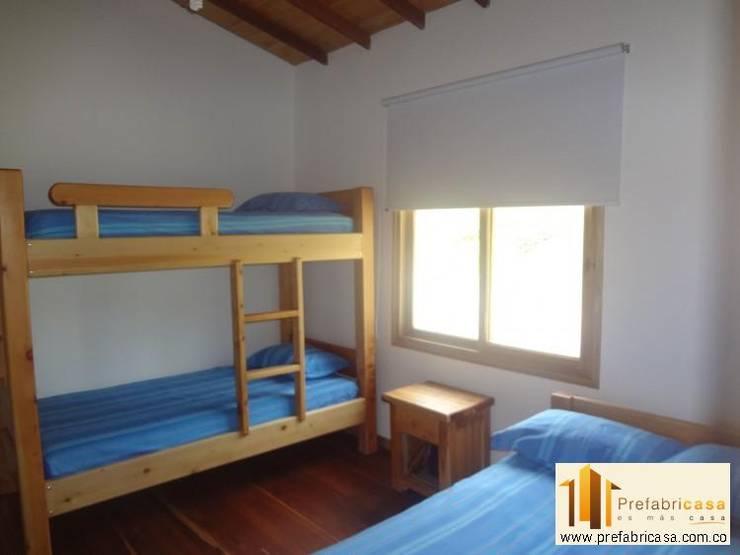 Bedroom by PREFABRICASA