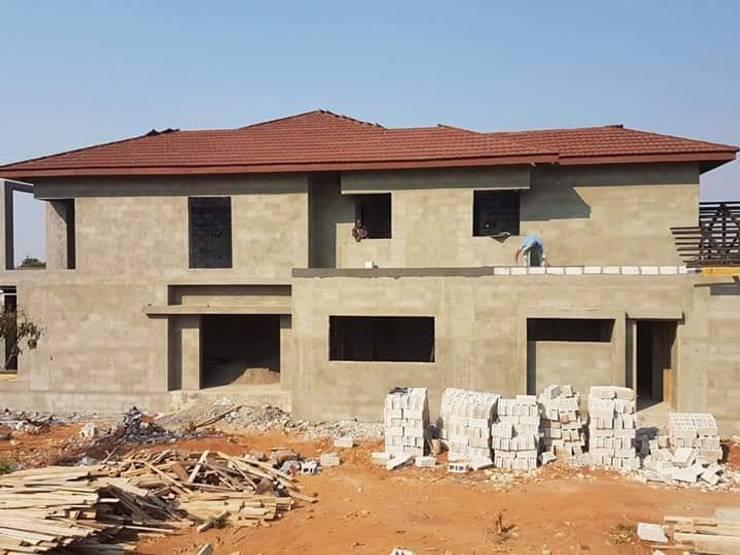 New Build:  Houses by Ndiweni Architecture