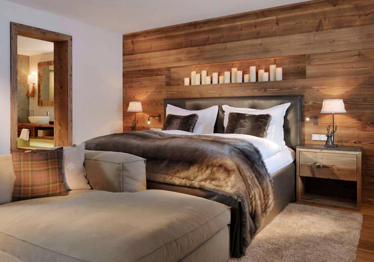Projekty,  Sypialnia zaprojektowane przez Go Interiors GmbH