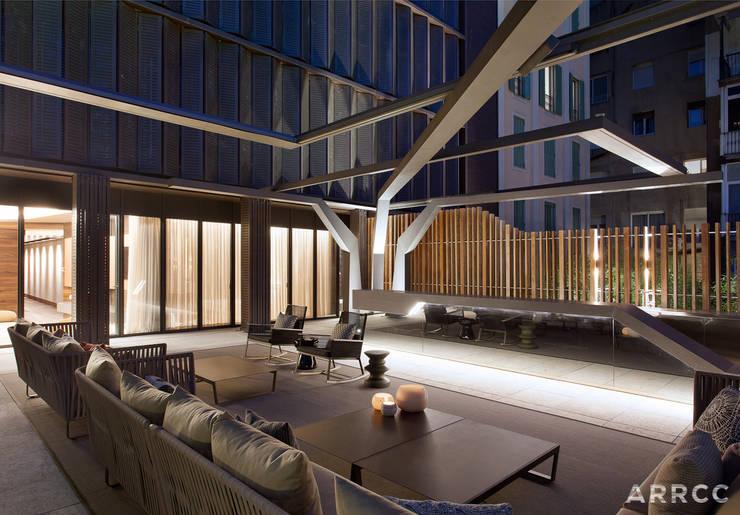 Barcelona Apartment:  Patios by ARRCC