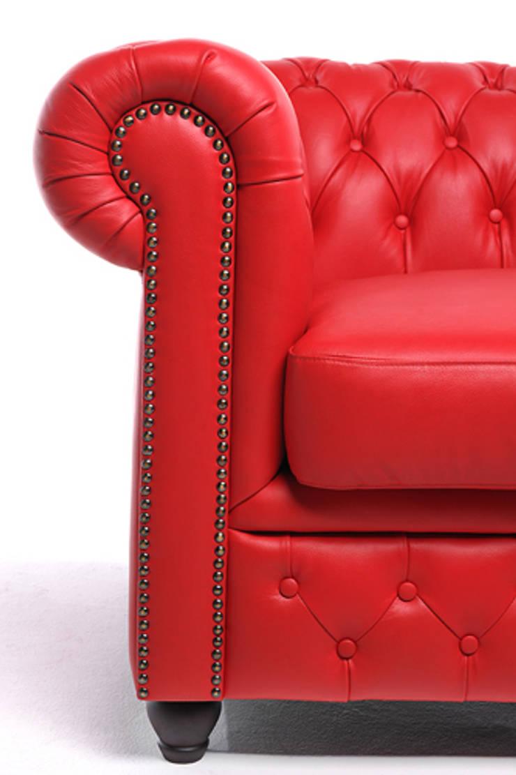 Brighton: Sala de estar  por Chesterfield.com