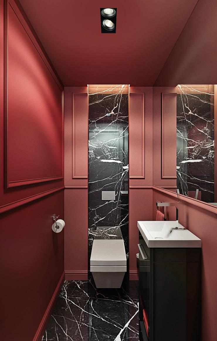 Restroom design. NYC: Ванные комнаты в . Автор – KAPRANDESIGN