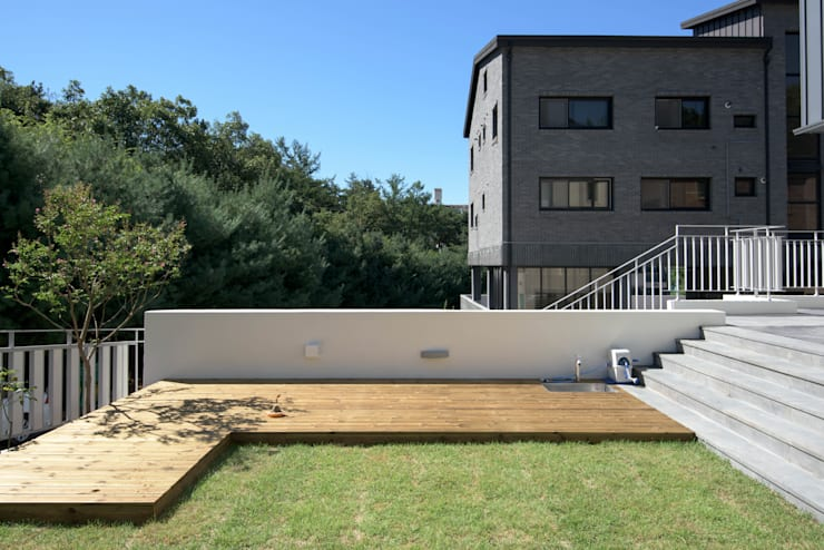 외부전경6(마당): 건축사사무소 재귀당의  주택