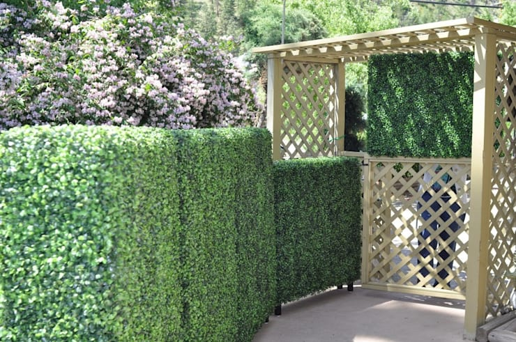 Artificial hedges for garden decorative:  Garden by Sunwing Industries Ltd