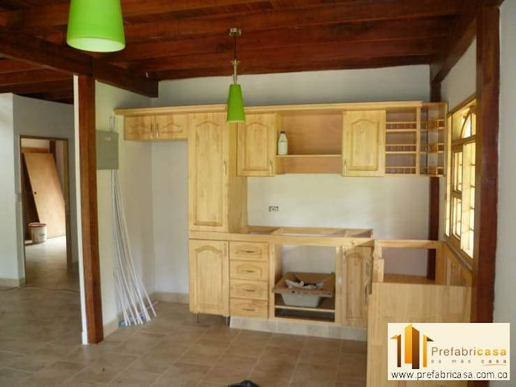ห้องครัว by PREFABRICASA