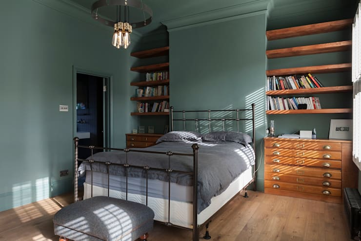 eclectic Bedroom by Blankstone