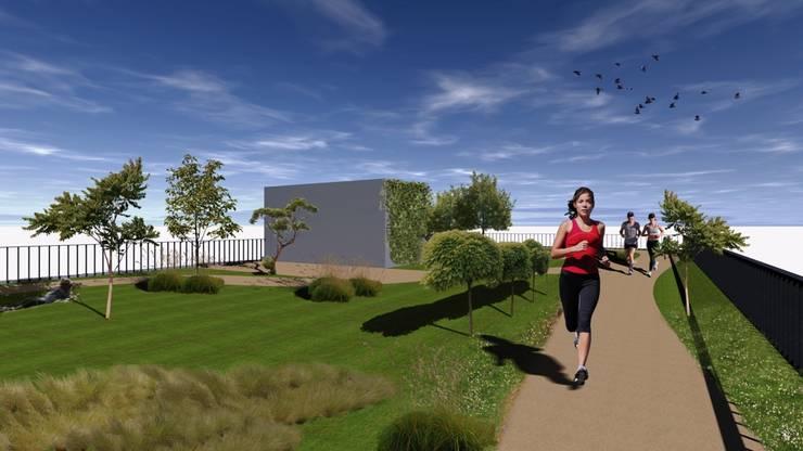 Conceção de um edifício de habitação coletiva.:   por Área77 - arquitectura, engenharia e design, lda