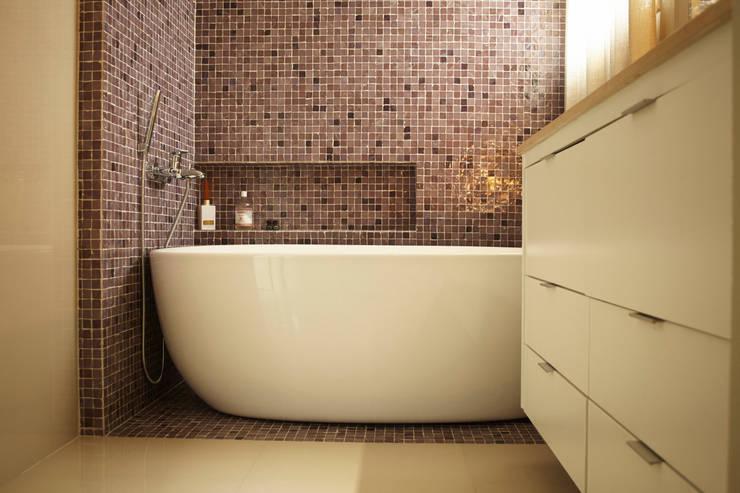 浴室 by dsgnduo, 隨意取材風