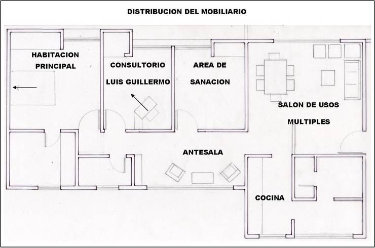 Asesoría Feng Shui Apartamento Cucuta Colombia: Cuartos de estilo  por Arquitectura Feng Shui Laura Ramirez