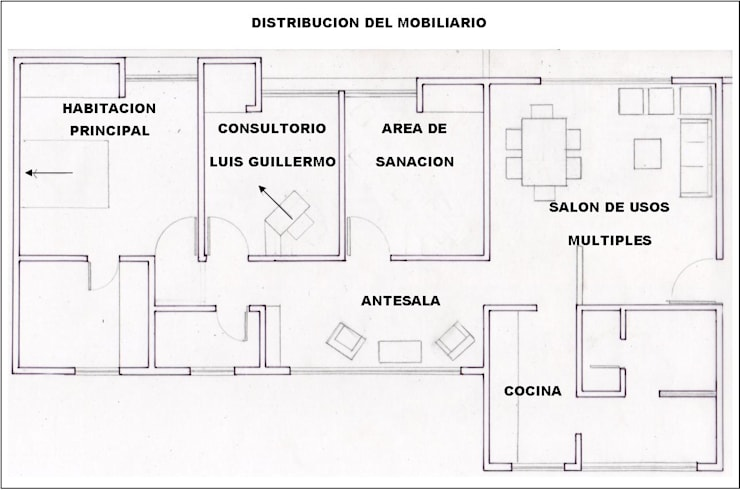 Asesoría Feng Shui Apartamento Cucuta Colombia: Cuartos de estilo moderno por Arquitectura Feng Shui Laura Ramirez