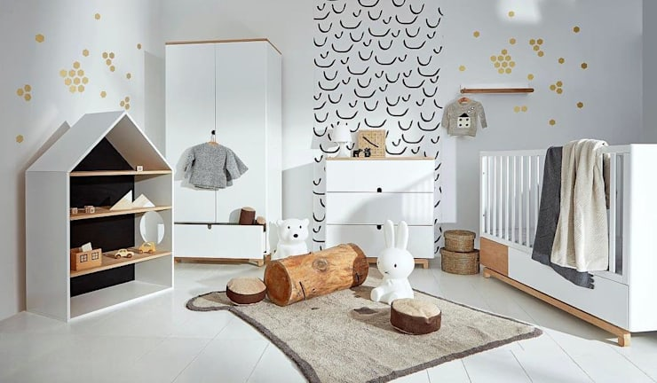 Nursery/kid's room تنفيذ Funique Furniture