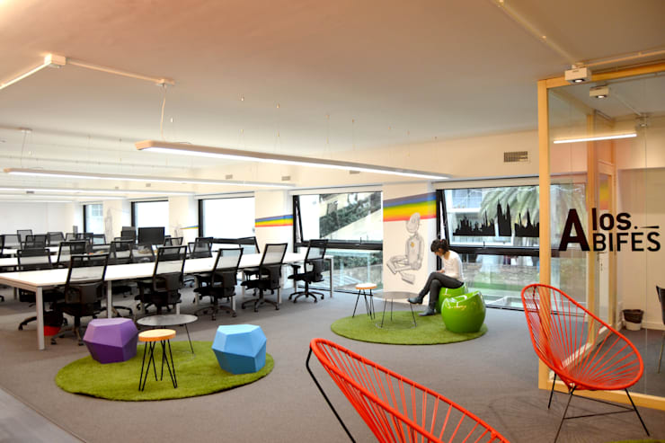 Oficinas Restorando Argentina:  de estilo  por Estudio Primal