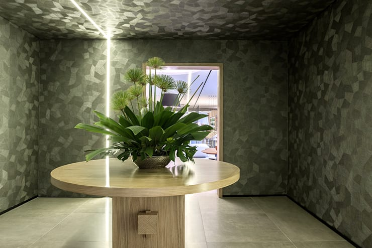 Espaço Gourmet: Corredores e halls de entrada  por Carpaneda & Nasr
