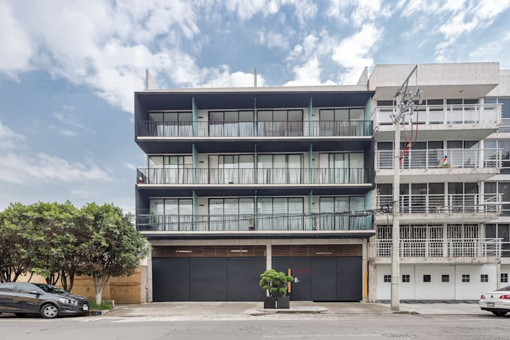 HF 1148 Casas modernas de PHia Moderno