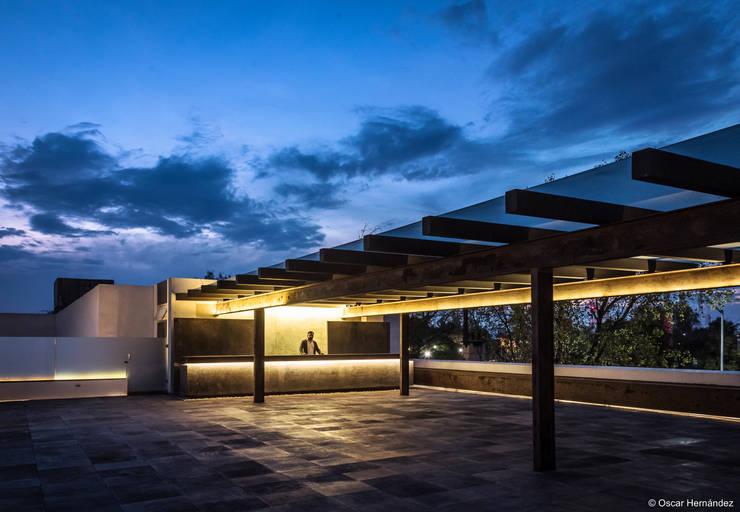Lucernario / CANOCANELA Arquitectura:  de estilo  por Oscar Hernández - Fotografía de Arquitectura