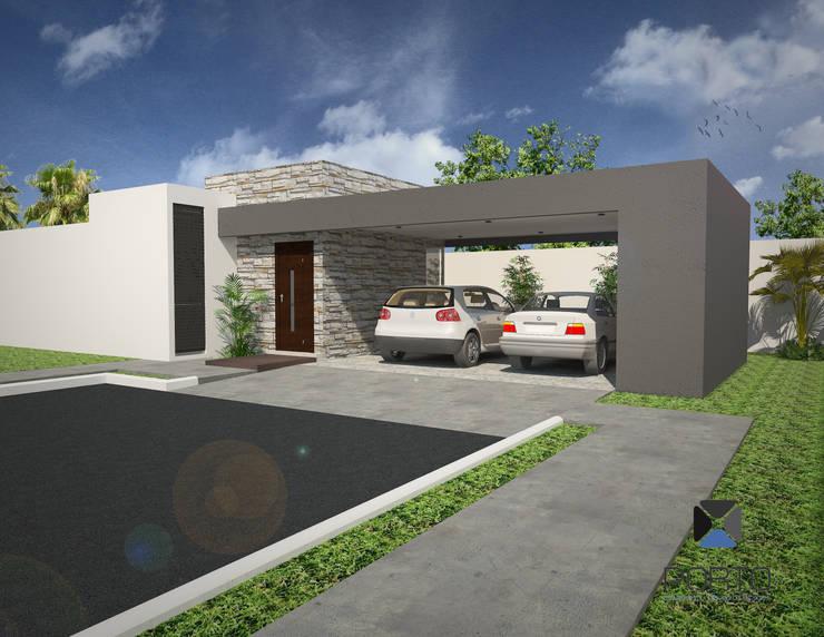 """""""Proyecto DB27"""":  de estilo  por PORTO Arquitectura + Diseño de Interiores"""