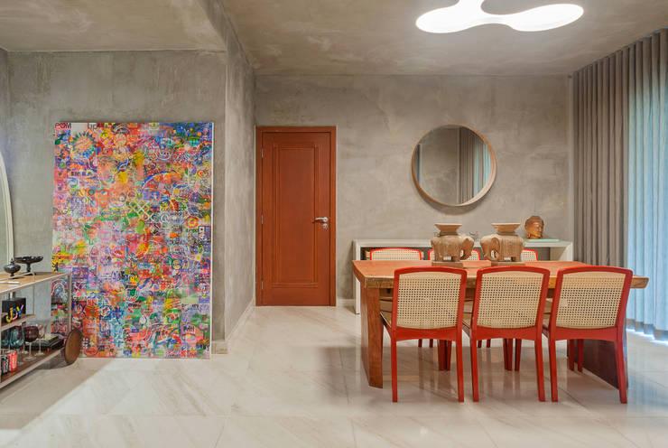 Comedores de estilo  de Jacqueline Ortega Design de Ambientes, Industrial