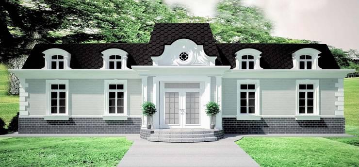 """Дом в стиле """" Шато"""": Дома в . Автор – APRIL DESIGN"""
