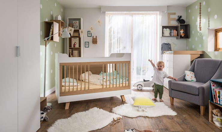 Projekty,  Pokój dziecięcy zaprojektowane przez Funique Furniture