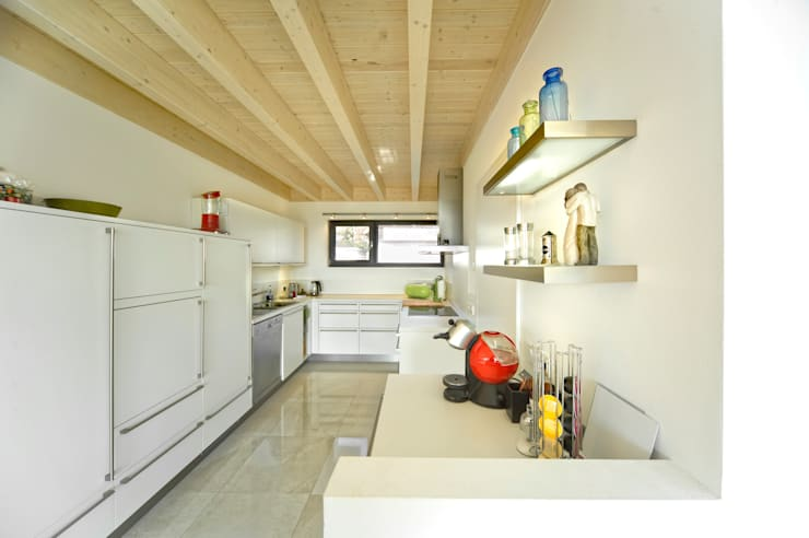 modern Kitchen by HunoldHaus