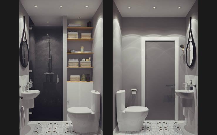 Baños de estilo  por Ksenia Konovalova Design