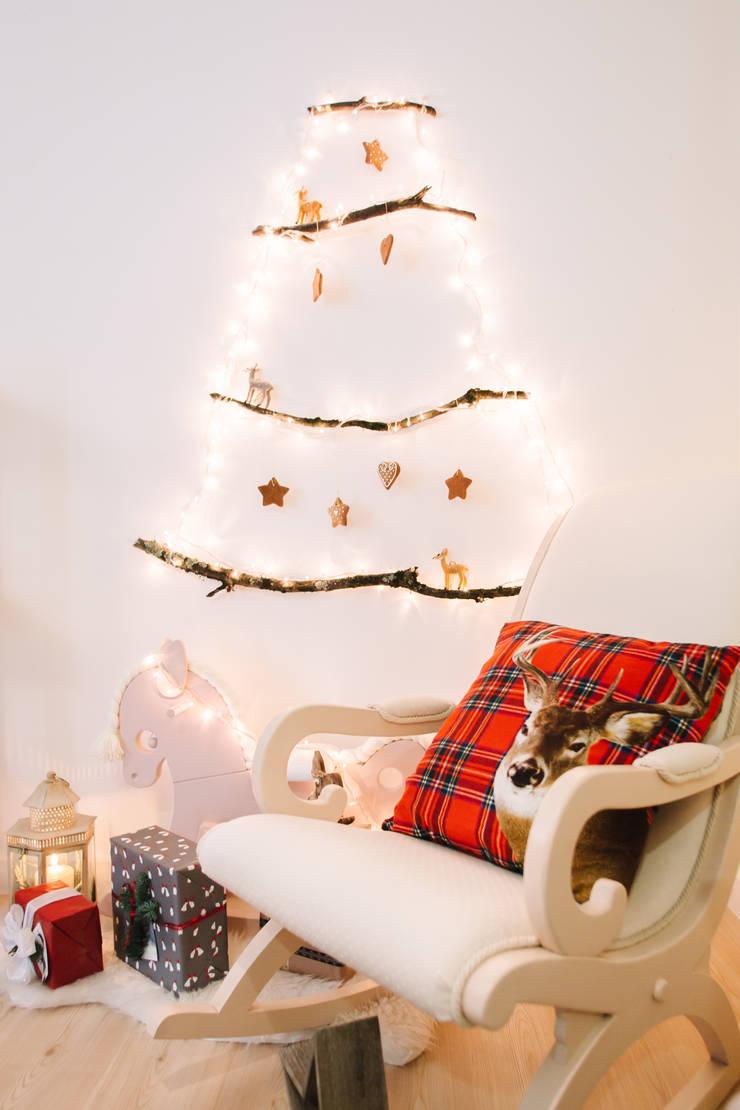 Christmas Brunch: Casa  por Renata Ferreira Arquiteta * Taraita