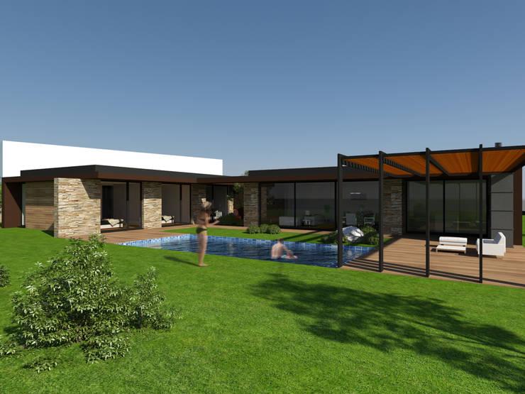 Casa da Venda: Casas  por Miguel Zarcos Palma