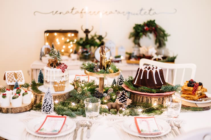 Christmas Brunch: Casa  por Sweet Eli