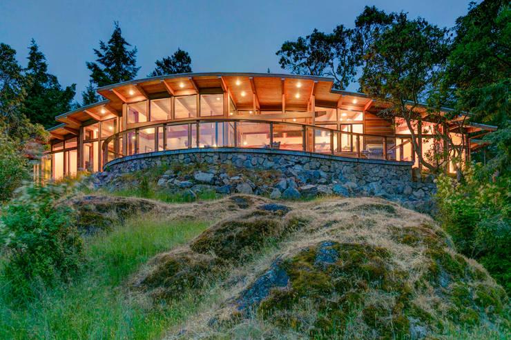 moderne Huizen door Helliwell + Smith • Blue Sky Architecture