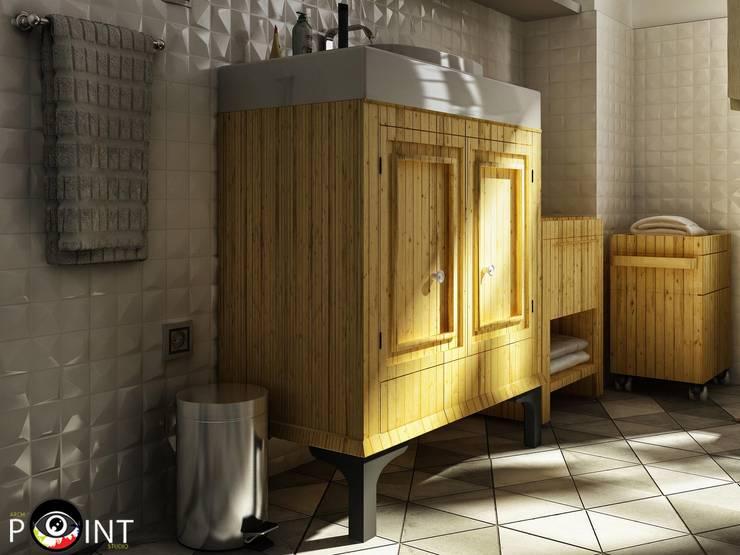 Bathroom design :   تنفيذ  arch point design house