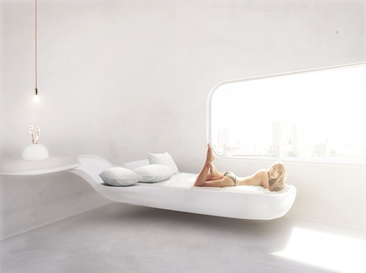 Спальни в . Автор – OLA architecten