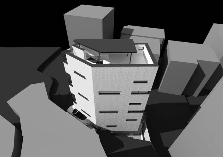 마장동 협소주택: Architects H2L의