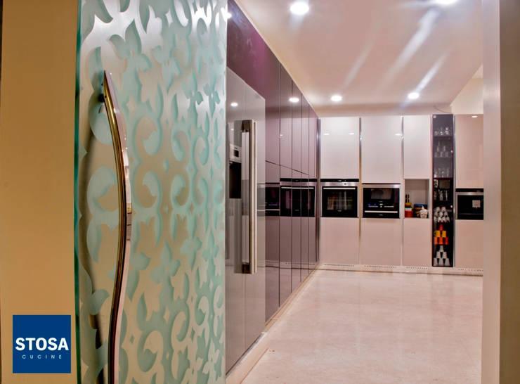 Stosa Cucine India. Latest Installation at Indore:  Kitchen by cmd