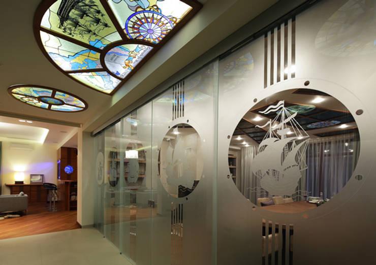 Corridor, hallway & stairs تنفيذ Эдуард Григорьев (daproekt)