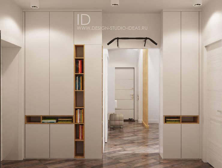 الممر والمدخل تنفيذ Студия дизайна Interior Design IDEAS