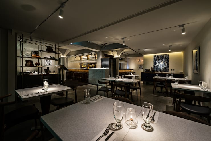 Dining Area:  酒吧&夜店 by 鄭士傑室內設計