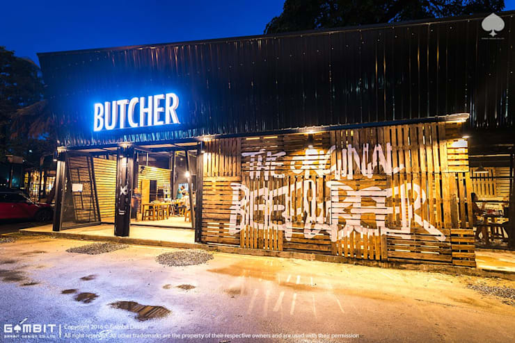 Butcher Beef & Beer:   by GAMBIT DESIGN CO.,LTD