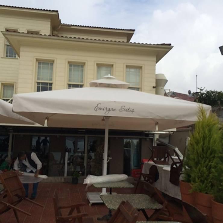 Akaydın şemsiye – Suncool Bahçe şemsiyesi:  tarz , Akdeniz Aluminyum/Çinko