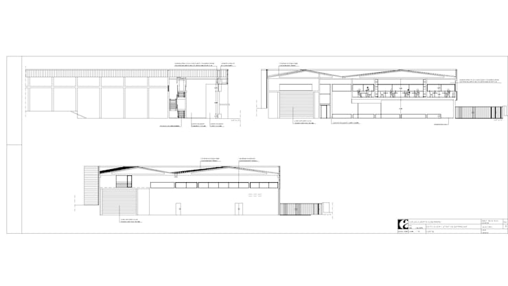 "Edifício Industrial ""CAAP – Serralharia"":   por Albertina Oliveira-Arquitetura Unipessoal Lda"